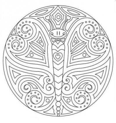 Printable Mandala Coloring Book | Coloring Mandalas Printable Pages Detailed Geometric - Ajilbab.Com ...