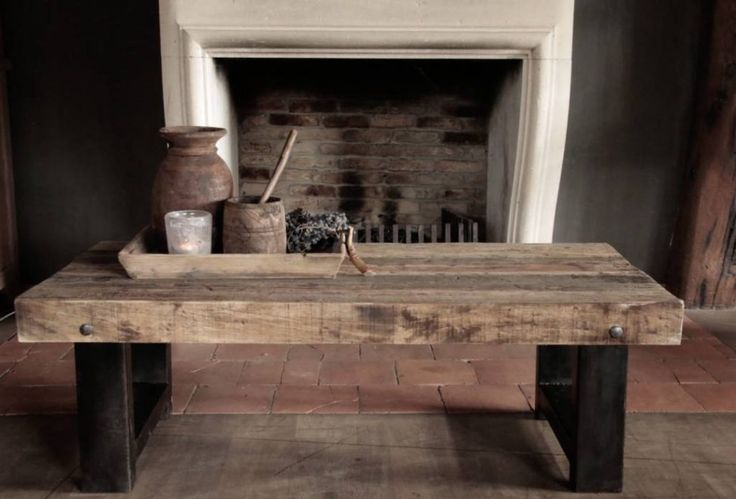 Coffee Table - Driftwood