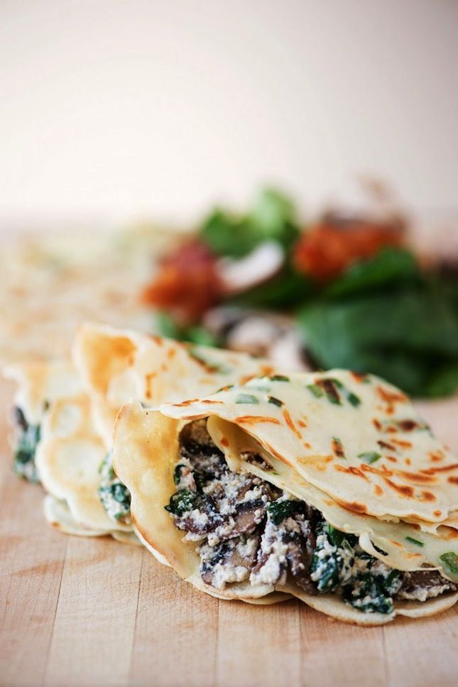 Holy Crepe! 30 Savory and Sweet Crepe Recipes via Brit + Co.