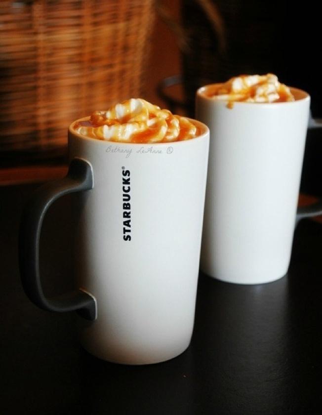 Hmmmm latte Machiato caramel