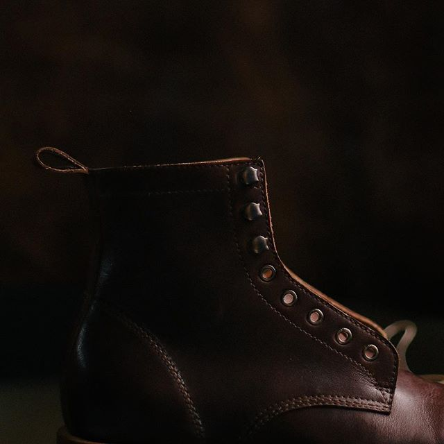 SIGNUM's Legion Boots post-quality control. To find out more, head over to our website at www.signumleather.com