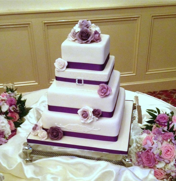 square 4 tier wedding cakes 56 best fondant iced wedding cakes images on 20343