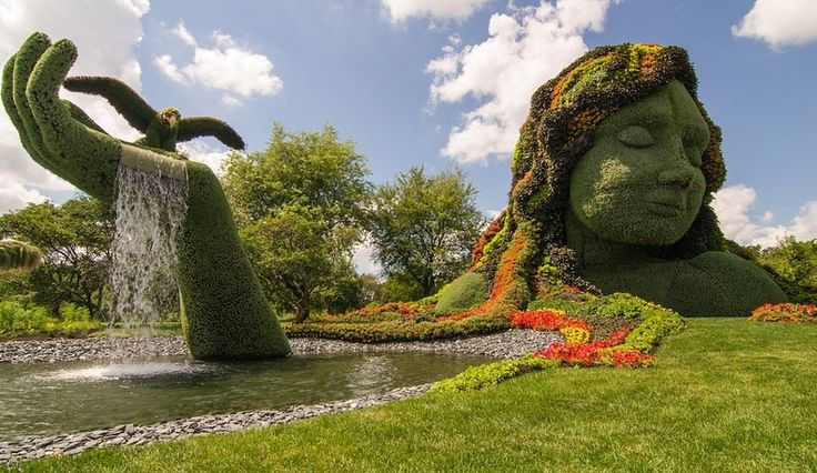 20 Lesser-Known Travel Destinations To Visit Before You Die! Montreal Botanical Garden in Montreal, Canada.