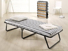 The Jay-Be evo is an ultra slim high quality affordable guest bed http://www.onlinebedshop.co.uk/guestbeds.htm
