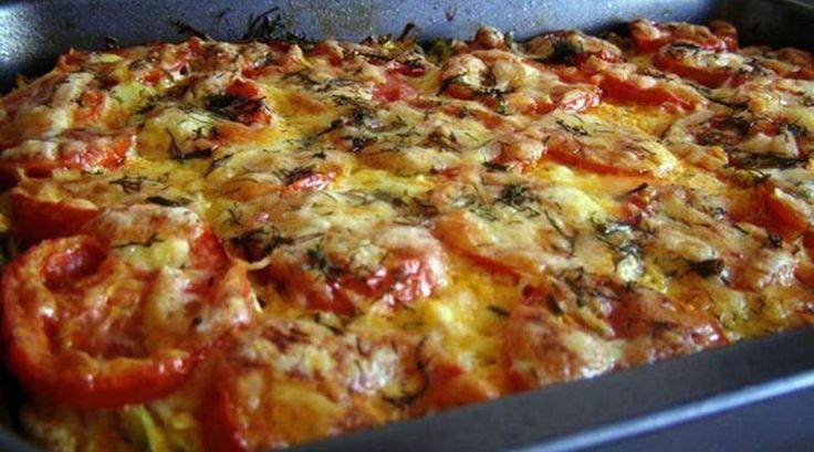 Запеканка из кабачков с фаршем и помидорами. Бесподобное, вкусное блюдо!