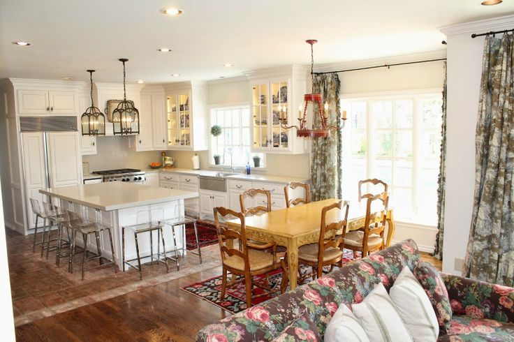 Great Living Room Kitchen Seperation Ideas