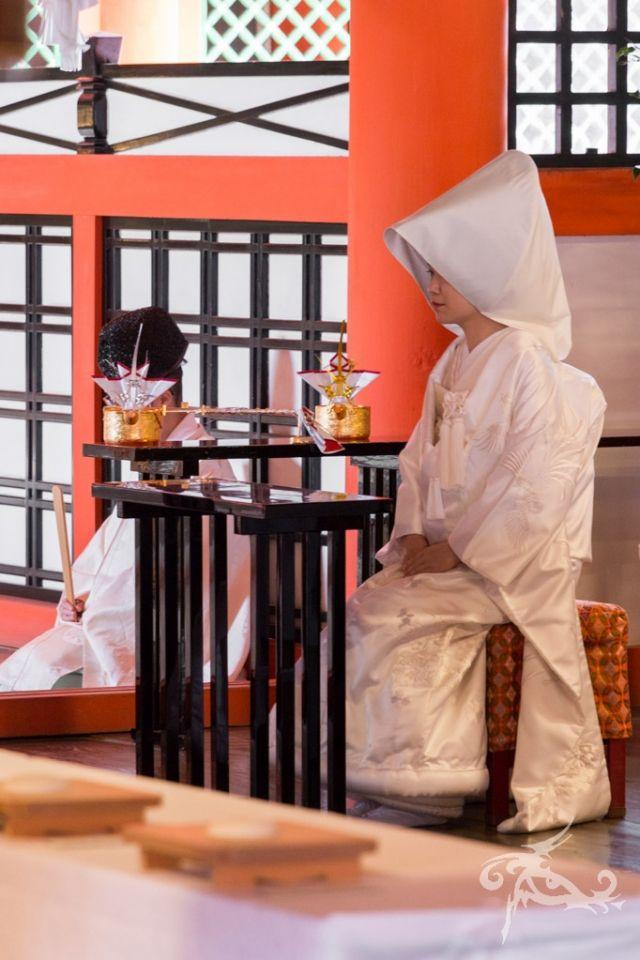 Japan II / Tag 8 / Hiroshima / Eine echte Shinto-Hochzeit erlebt