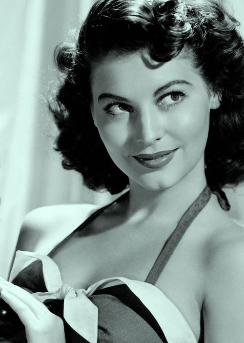 """Because I was promoted as a sort of a siren and played all those sexy broads, people made the mistake of thinking I was like that off the screen. They couldn't have been more wrong. "" Ava Gardner"