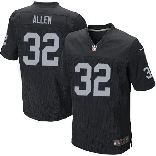 the latest faf19 c7717 authentic marcus allen mens throwback jersey oakland raiders ...