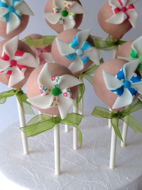 Festive Pinwheel Cake Tutorial Cake Pops| Party Ideas By Seshalyn