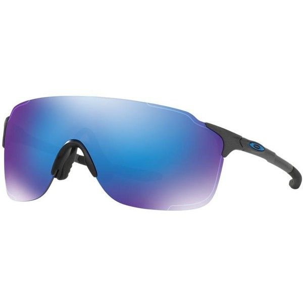 Oakley 38 Evzero Stride Silver Rectangle Sunglasses - oo9386 (510 BRL) ❤ liked on Polyvore featuring men's fashion, men's accessories, men's eyewear, men's sunglasses, mens rectangle sunglasses, mens wrap around sunglasses, oakley mens sunglasses and men's rectangular sunglasses