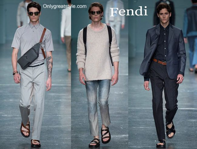 Fendi spring summer 2015 menswear fashion clothing