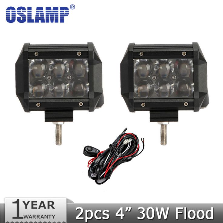 "$52.50 (Buy here: https://alitems.com/g/1e8d114494ebda23ff8b16525dc3e8/?i=5&ulp=https%3A%2F%2Fwww.aliexpress.com%2Fitem%2F2pcs-lot-30W-4-inch-OSRAM-Flood-Beam-Off-Road-LED-Work-Light-12V-24V-SUV%2F32259286020.html ) Oslamp 30W 4"" CREE Chips Led Light Bar Flood LED Work Light 12V 24V SUV ATV UTV 4WD 4X4 Led Offroad Light Bar Driving Lamp for just $52.50"