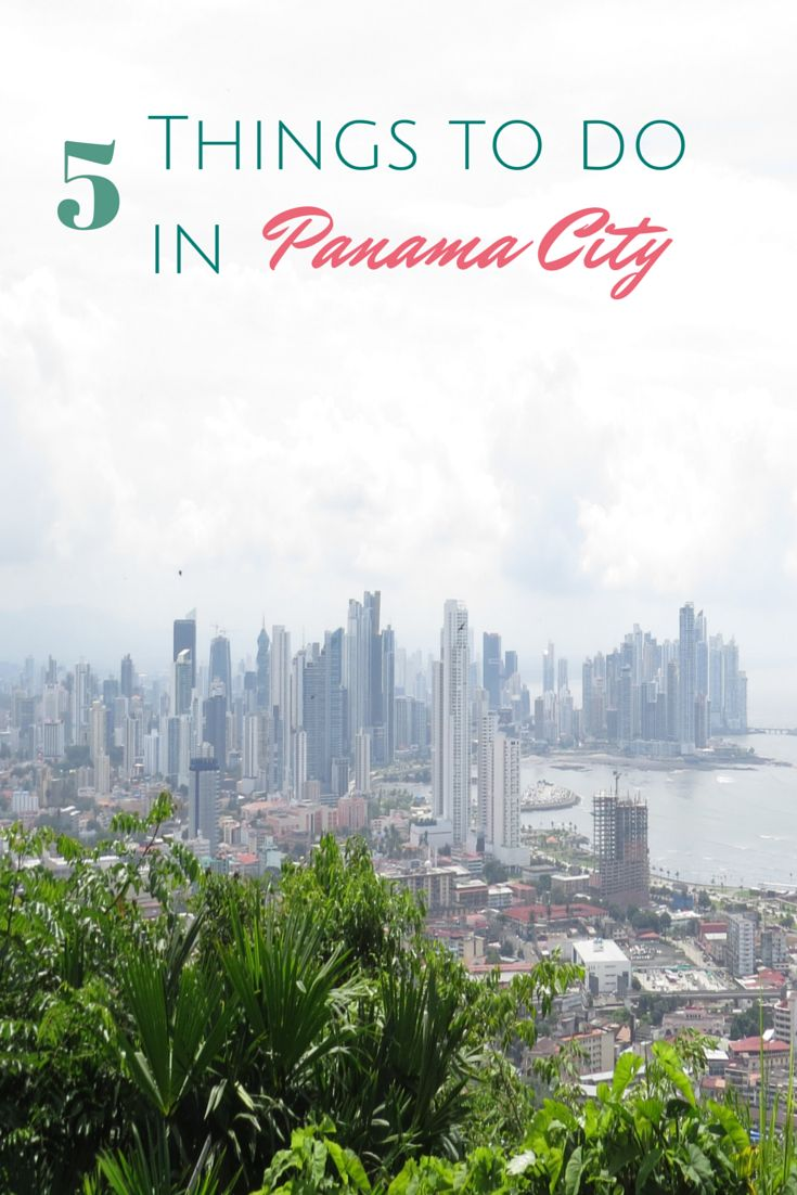 Hay tantas cosas divertidas que hacer en Panamá!