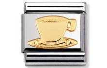 This describes me Coffee me Nomination Bracelet Charm