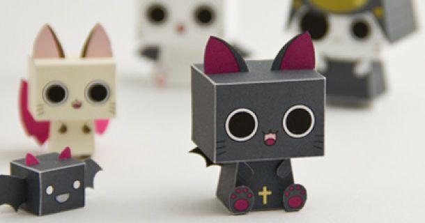 Vampire Cats de WXY (x 6)