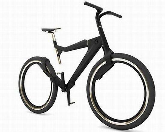 Una bici al estilo TRON.