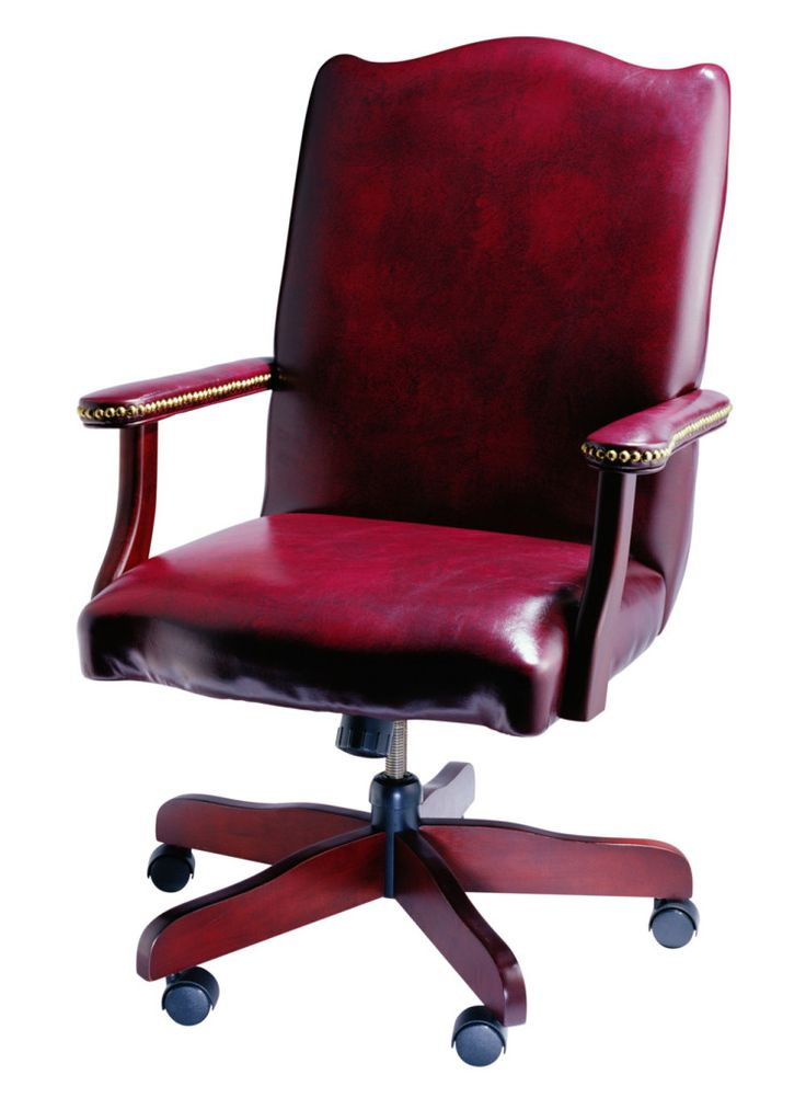 Red Office Chair For Executive Manger