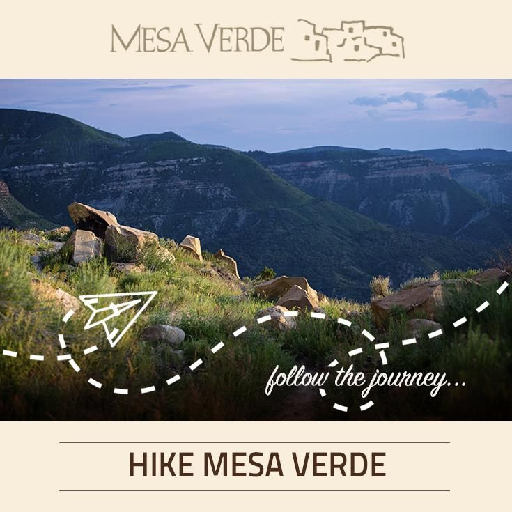 Hiking in Mesa Verde National Park is plentiful, with numerous trails offering a perfect hike for the novice and a day's hike for the experienced.