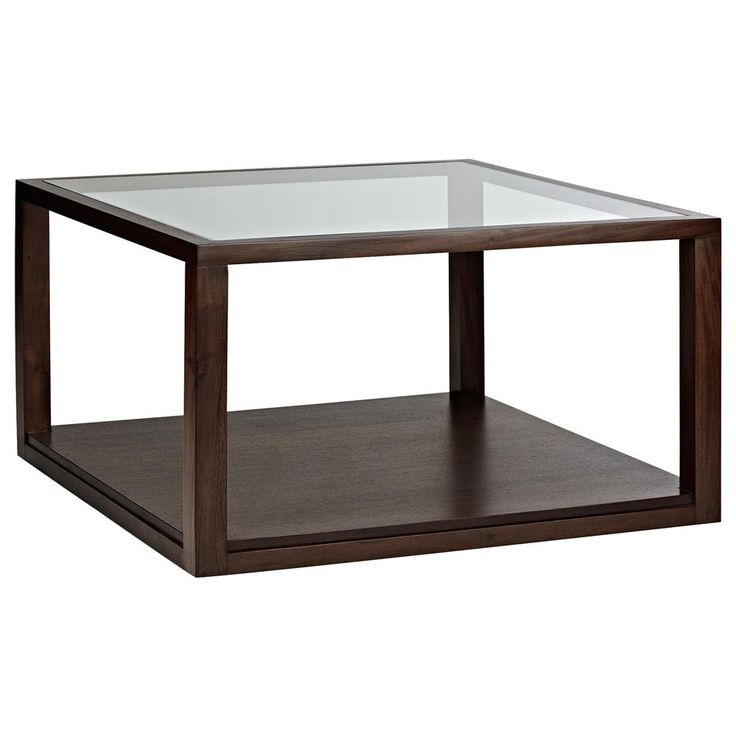 Atelier - Classic - Glass-top coffee table with wood legs/COFFEE TABLES/COFFEE TABLES & SIDE TABLES/SHOP BY PRODUCT/ATELIER BOUCLAIR|Bouclair.com