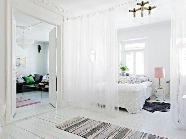 die besten 17 ideen zu raumteiler vorhang auf pinterest. Black Bedroom Furniture Sets. Home Design Ideas
