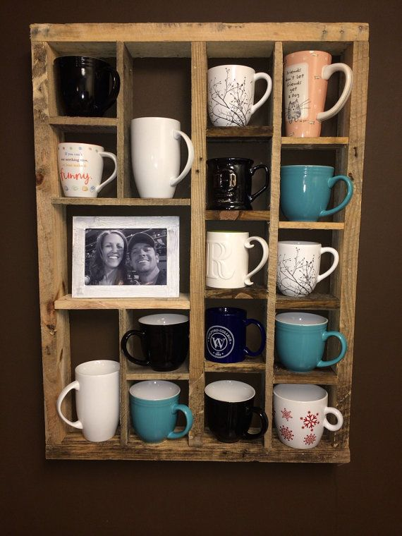17 best ideas about coffee mug display on pinterest for Mug racks ideas