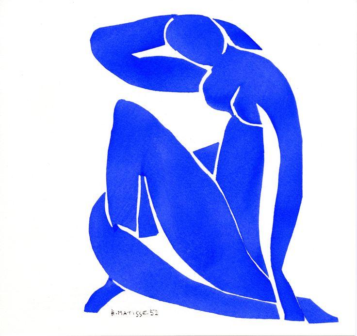 Nu Bleu - Matisse.