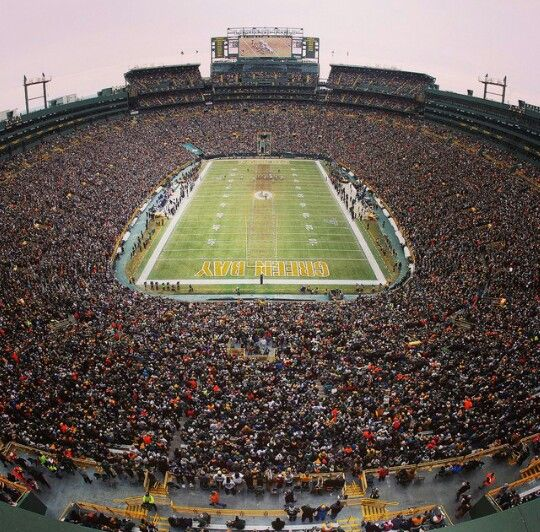 Lambeau had a record setting attendance at the NFL Division Playoff game.