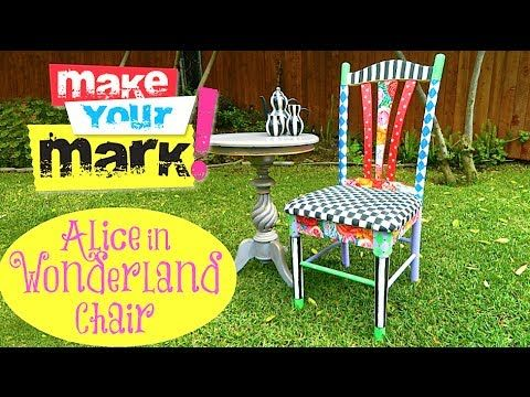 How to: Alice in Wonderland Chair http://markmontano.com/blog/2014/03/10/alice-in-wonderland-chair-diy-2/