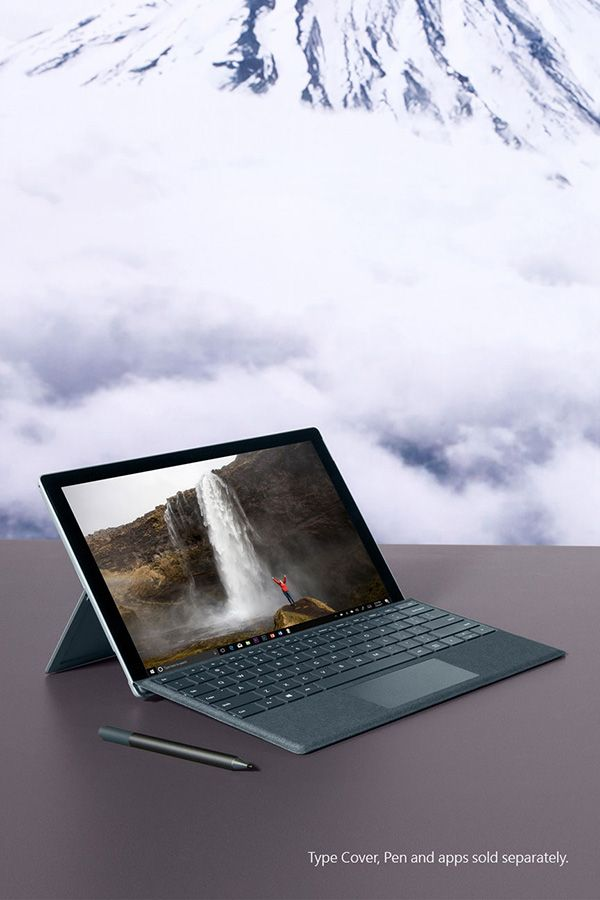 With up to 13.5 hours of battery life, the new Surface Pro doesn't call it quits until you do.