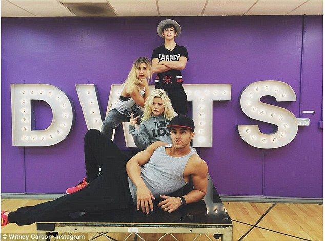 'Magic Los and his bodyguards': No pressure then for Vine star Hayes Grier and partner Emma Slater (top row), who have to perform John Travolta and Olivia's You're the One That I Want dance from Grease