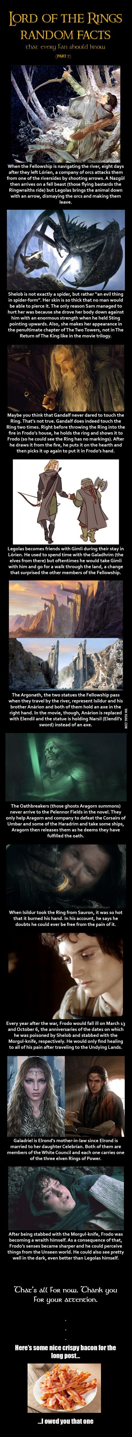 Here are some Lord of the Rings random facts (Part 7)