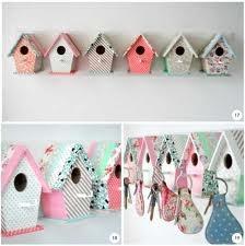 casa de pajaritos de cartón -