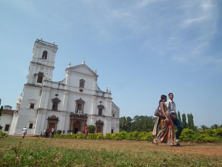 India, Goa, Leaving the old Portuguese Church