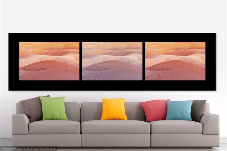 Earth Bodyscape. Natural Abstract 1. Triptych by Jenny Rainbow.   Triptych available in big sizes.  Seven Colored Earth in Chamarel truly is a natural Wonder.  #JennyRainbowFineArtPhotography #Nature #ArtForHome #Mauritius