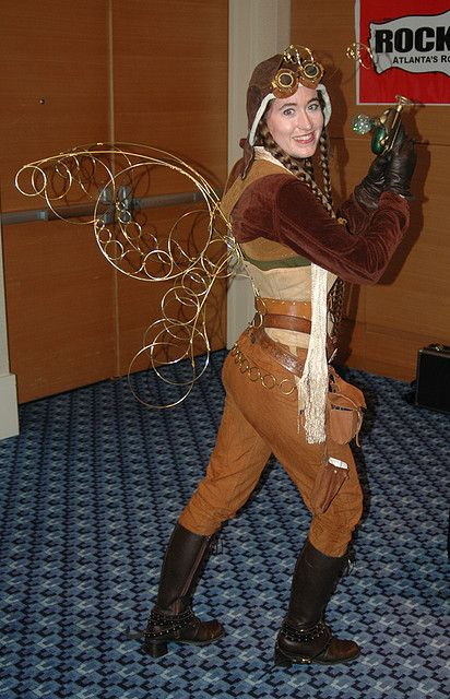 Steampunk Fairy - The Wings. WANT!