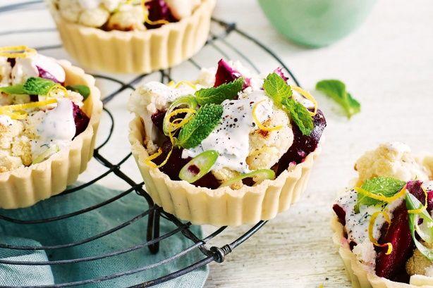 Make the most of fresh seasonal beetroot in this sensational gluten-free tart.
