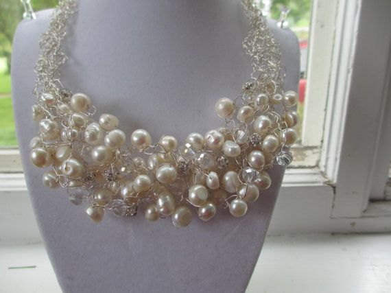 Pearl Explosion by WolfCreekCreations on Etsy, $65.00