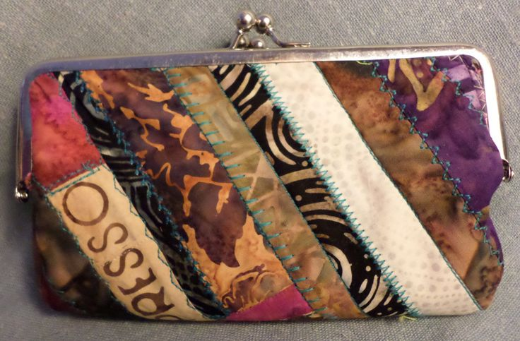 OOAK Gypsy Pockets Double Clutch Boho Wallet Purse Handbag - Paula's Doll House - Paula McGee by paulasdollhouse on Etsy $110