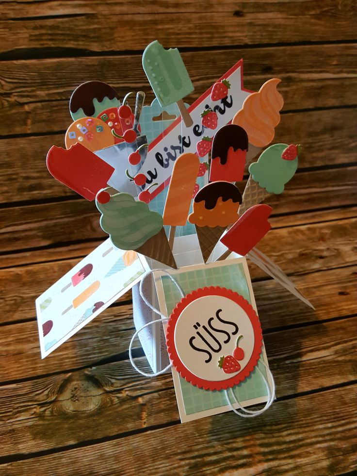 Stampin'Up! Eis,Eis,Baby! Coole Kreationen Card-in-a-Box Genussmomente