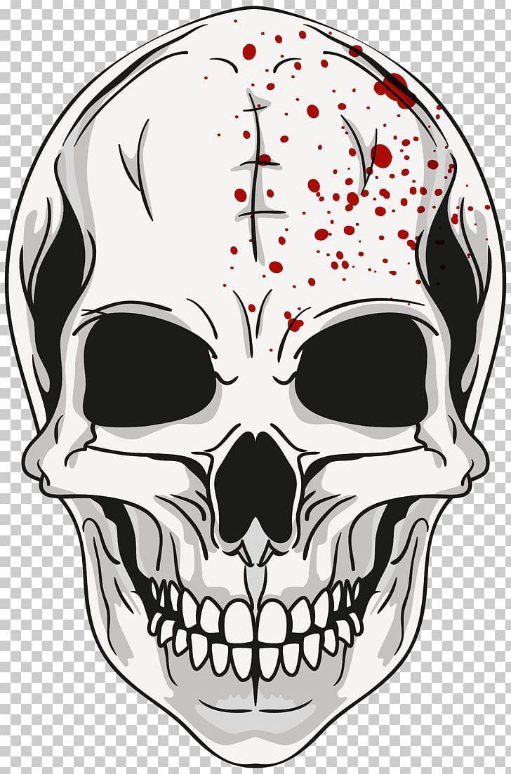 Calavera Skull Png Clipart Art Black And White Bone Calavera Clipart Free Png Download Skull Art Images Halloween Skull
