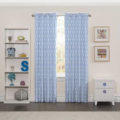 Eclipse Cozy Clouds Window Curtain Panel