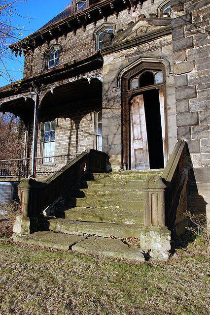 Singer Mansion - Wilkinsburg, Pennsylvania ~ Abandoned