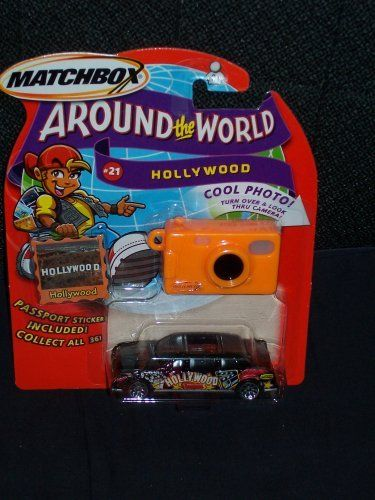 2003 Matchbox Around The World Collection # 21 Hollywood Black Limousine by Mattel. $10.05. 2003 matchbox around the world series. Hollywood. from the 2003 Matchbox Around The World Collection comes # 21 Hollywood-- of course it's a  Black Limousine