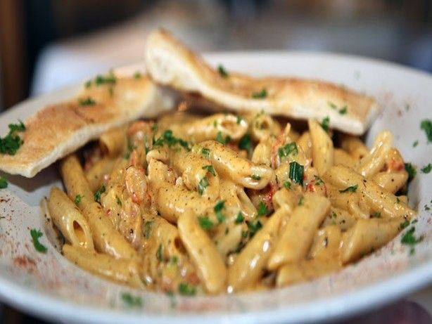This recipe uses an authentic, homemade alfredo cream sauce as a base, so if stying light is the goal...this wont fit your flightplan.  It uses real butter and heavy cream and other ingredients to make a dish of goodness youve only had in top restaurants. The good news is, its quick and easy enough for a novice to make with good results.  Enjoy!