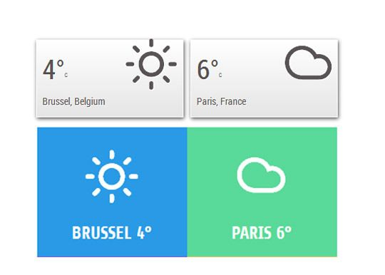 jQuery Weather Plugin
