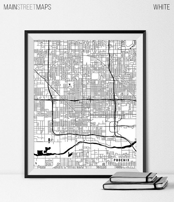 Best 25 Map of phoenix arizona ideas on Pinterest  Az info