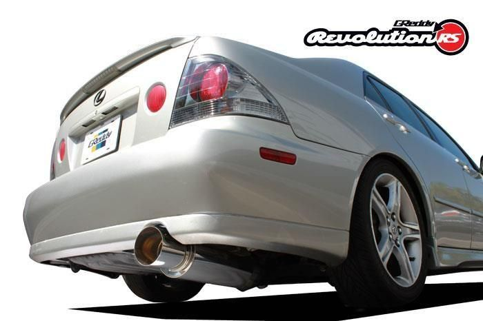 GReddy 2001-2005 Lexus IS300 Revolution RS Cat-Back Exhaust System