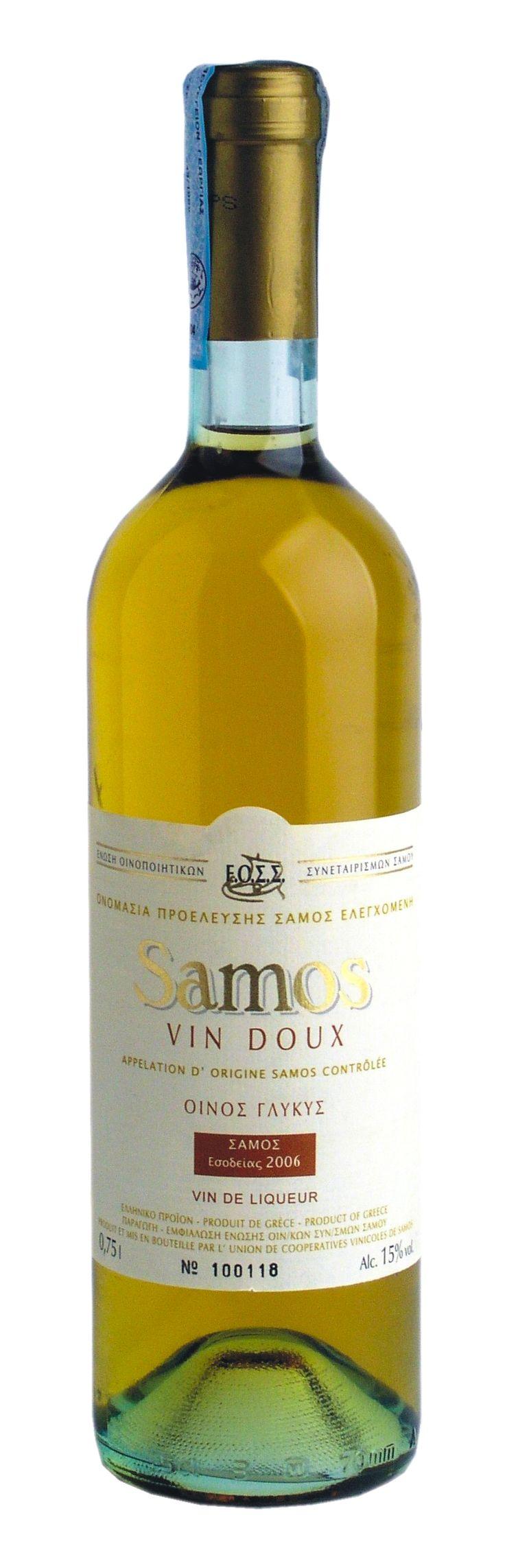 VIN DOUX - Samos wine