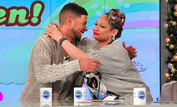 """#ravensymone #jussiesmollet Raven Symone Gets Surprised By SWV, Jussie Smollett & Glitter Eyebrows For 30th Birthday On """"The View"""" 